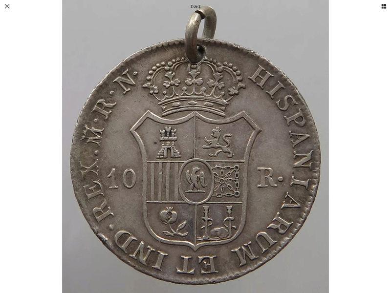 10 reales 1813 RN Madrid.  José Napoleón Img_0716