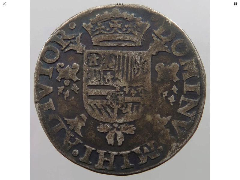 1571 1/2 Escudo de Felipe II Img_0720