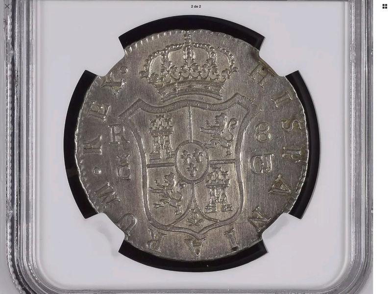1813 Cadiz CJ. 8 reales Fernando VII Img_0721