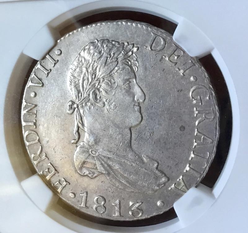 1813 Cadiz CJ. 8 reales Fernando VII Img_0723