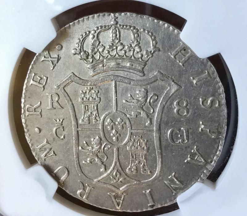1813 Cadiz CJ. 8 reales Fernando VII Img_0724
