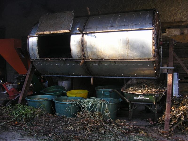 Rénovation de mon composteur (les photos datent de 2011) P1010010