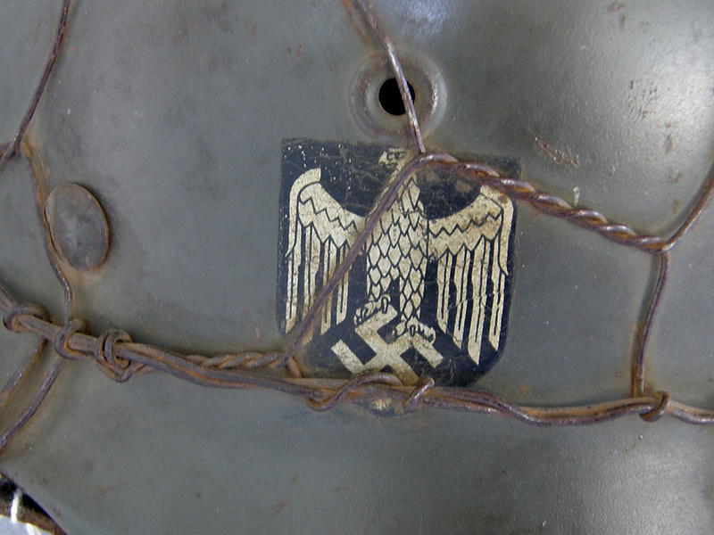 Casque All Heer Grillagé 1510he16