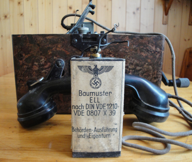TELEPHONE DE CAMPAGNE WEHRMACHT Dsc03534