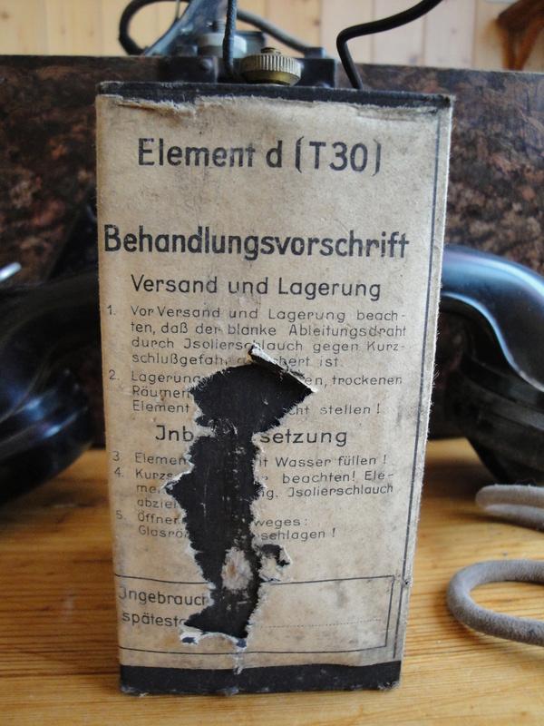 TELEPHONE DE CAMPAGNE WEHRMACHT Dsc03536