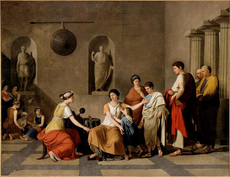 Expo. Joseph-Benoît Suvée au Musée des Beaux-Arts de Tours 92-00210