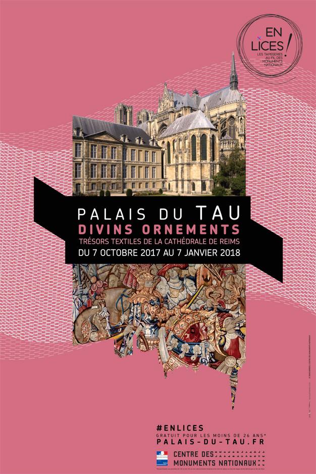 Divins ornements Trésors textiles de la cathédrale de Reims  Enlice10