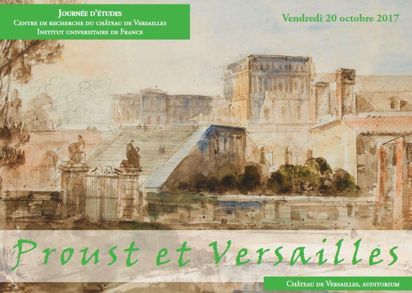 Journée d'études au château : Proust et Versailles  Proust10