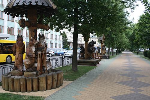 Кованые фонари-скульптуры и другие арт-объекты г. Бреста Img_0433