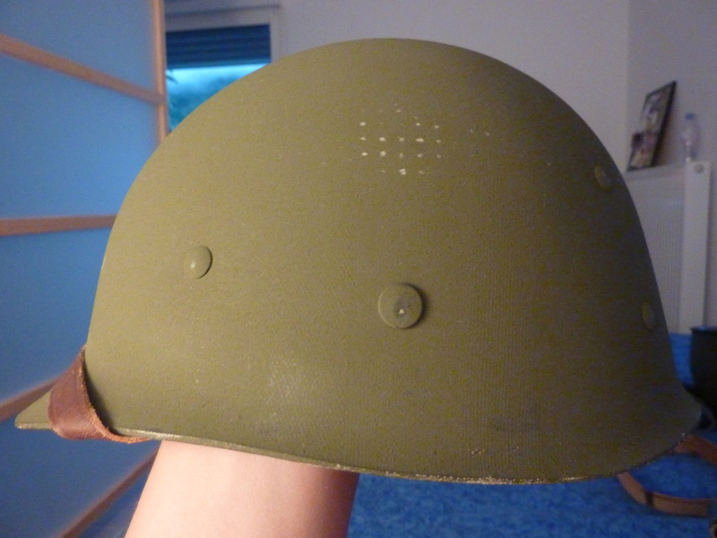 Identification casque US M1 WW2 P1030418