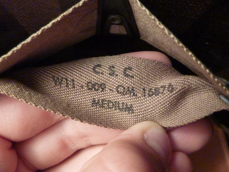 Identification casque US M1 WW2 P1030421