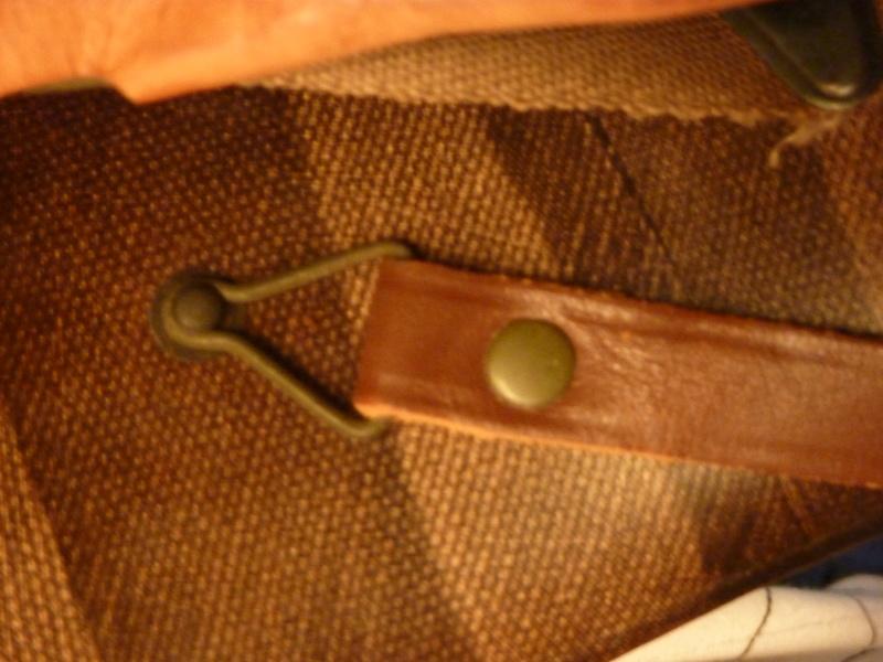 Identification casque US M1 WW2 P1030425