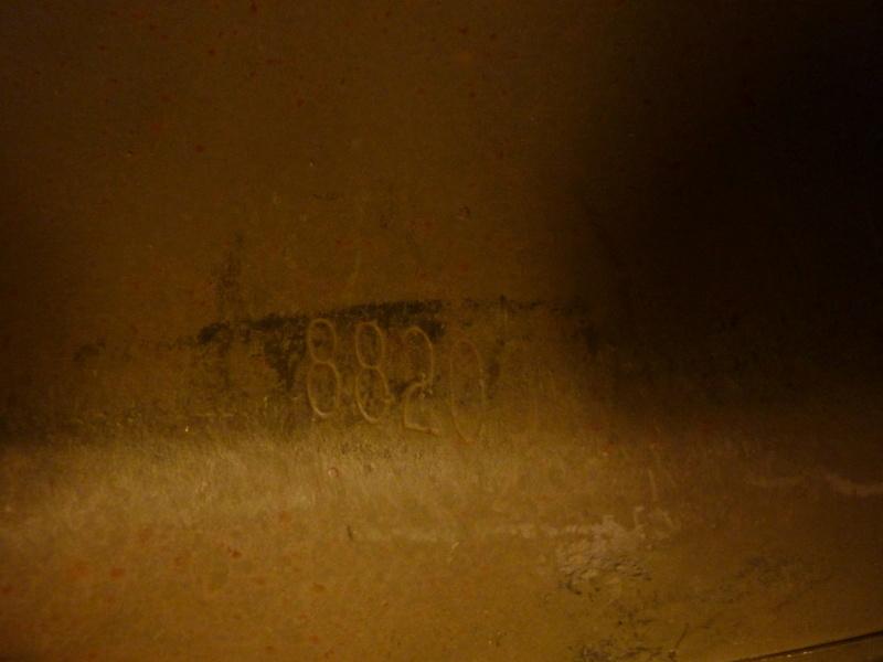 Identification casque US M1 WW2 P1030431