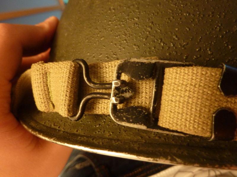 Identification casque US M1 WW2 P1030434