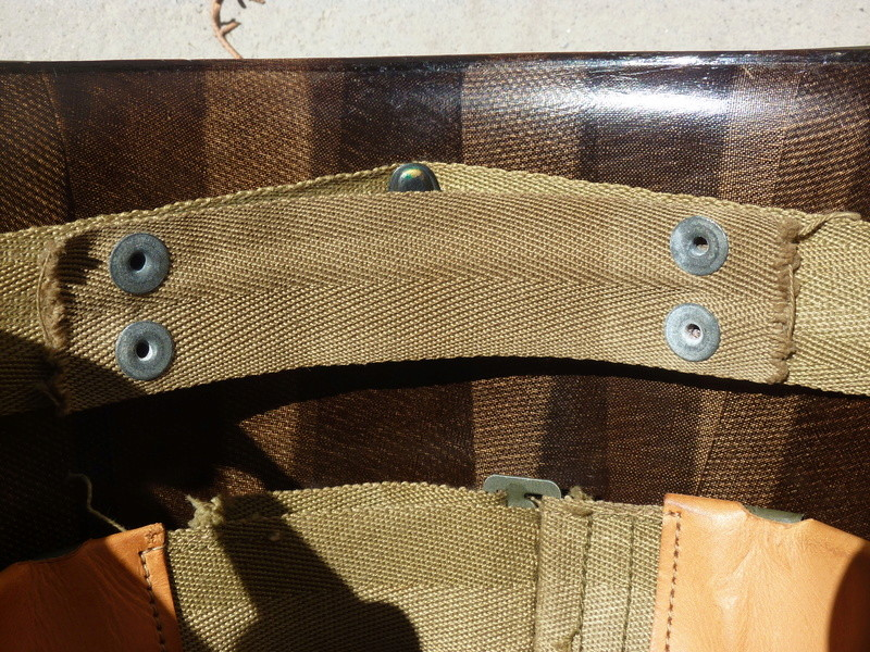 Identification casque US M1 WW2 P1030443