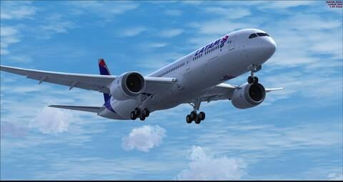 QualityWings 787 Dreamliner para FSX (Review de Eduardo Santos)