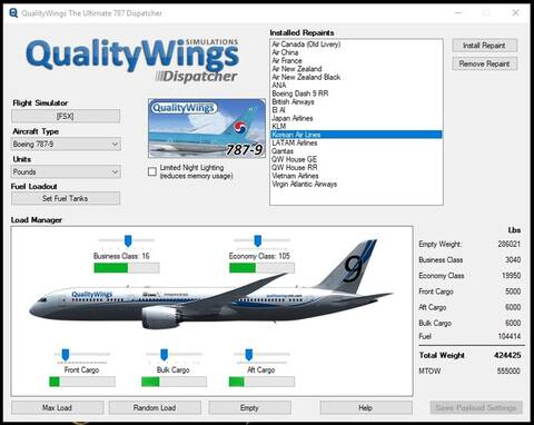 Qualitywings 787 Review