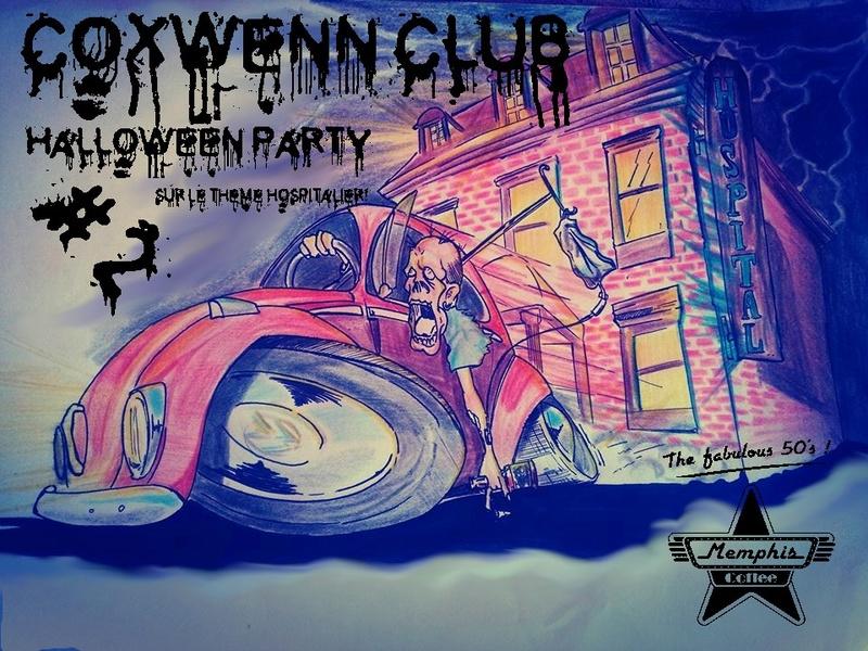 Halloween party #2  Memphi11