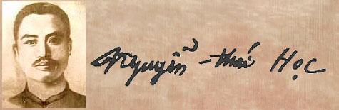 Nguyễn Thái Học 1902- 1930 (Nhượng Tống) Nguyen15