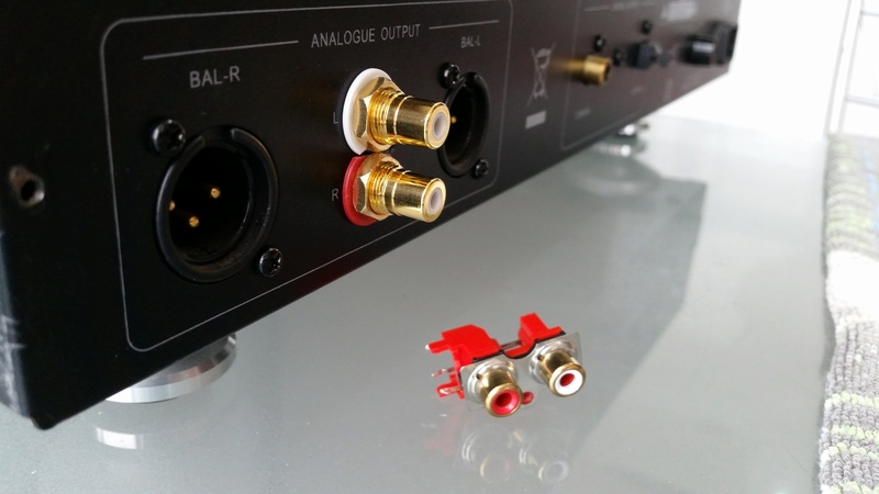 Advance Acoustic MCD-203II com novo som - Burson Audio 20170919