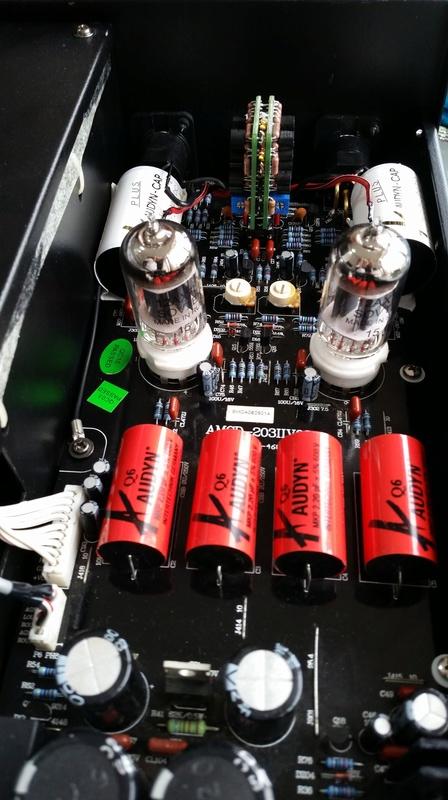 Advance Acoustic MCD-203II com novo som - Burson Audio 20170920
