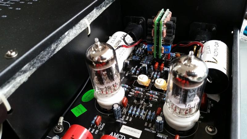 Advance Acoustic MCD-203II com novo som - Burson Audio 20170922