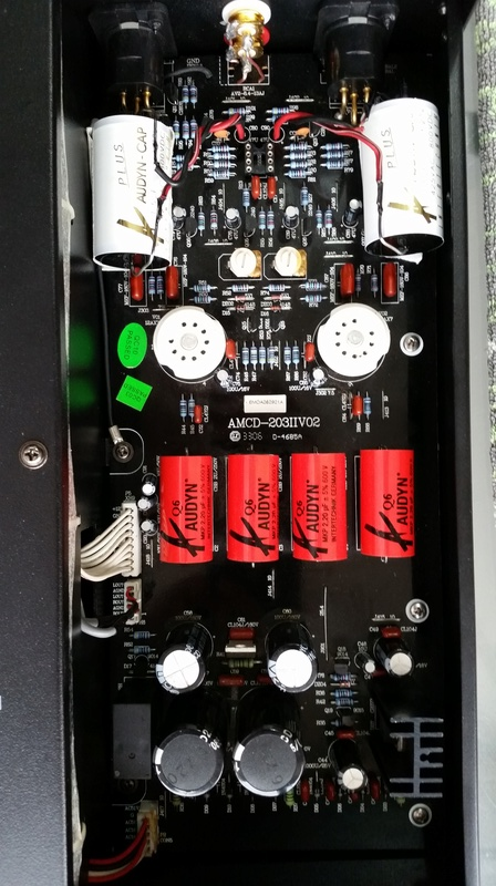 Advance Acoustic MCD-203II com novo som - Burson Audio 20170923