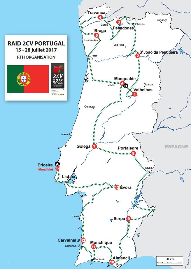 22º Encontro Mundial dos Amigos 2CV Map_ra10