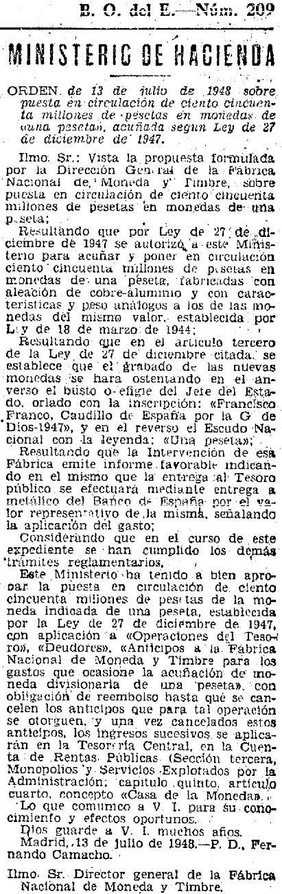1 peseta 1946. Estado Español. ¿Prueba de circulación? - Página 14 O10