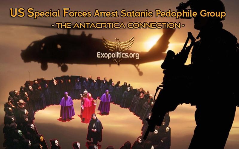 Майкл Салла: Американские специальные силы арестовывают сатанинскую группу педофилов - Связь с Антарктикой (9.08.2017) Us-spe10