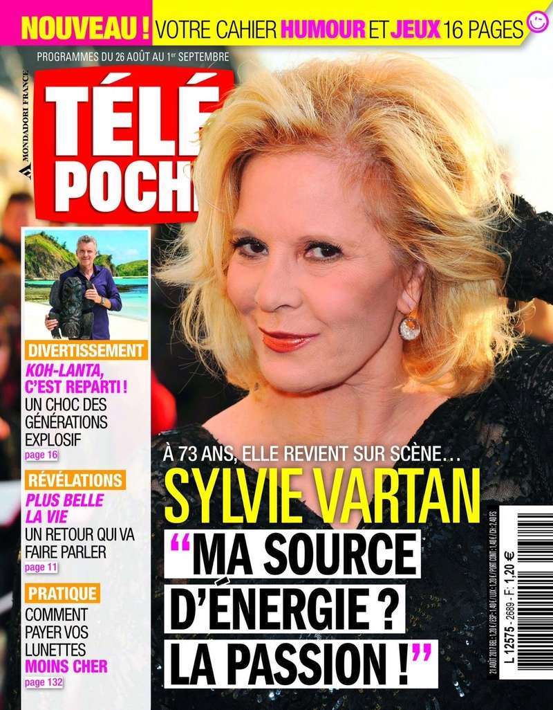 PRESSE - Télé Poche lundi 21/8 (scan couverture) Telepo10