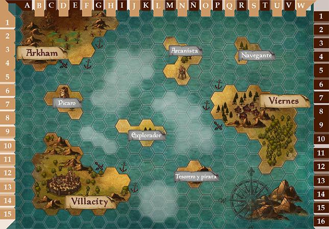 Los Piratas de Vesumbri: El retorno del rey Mapa5010