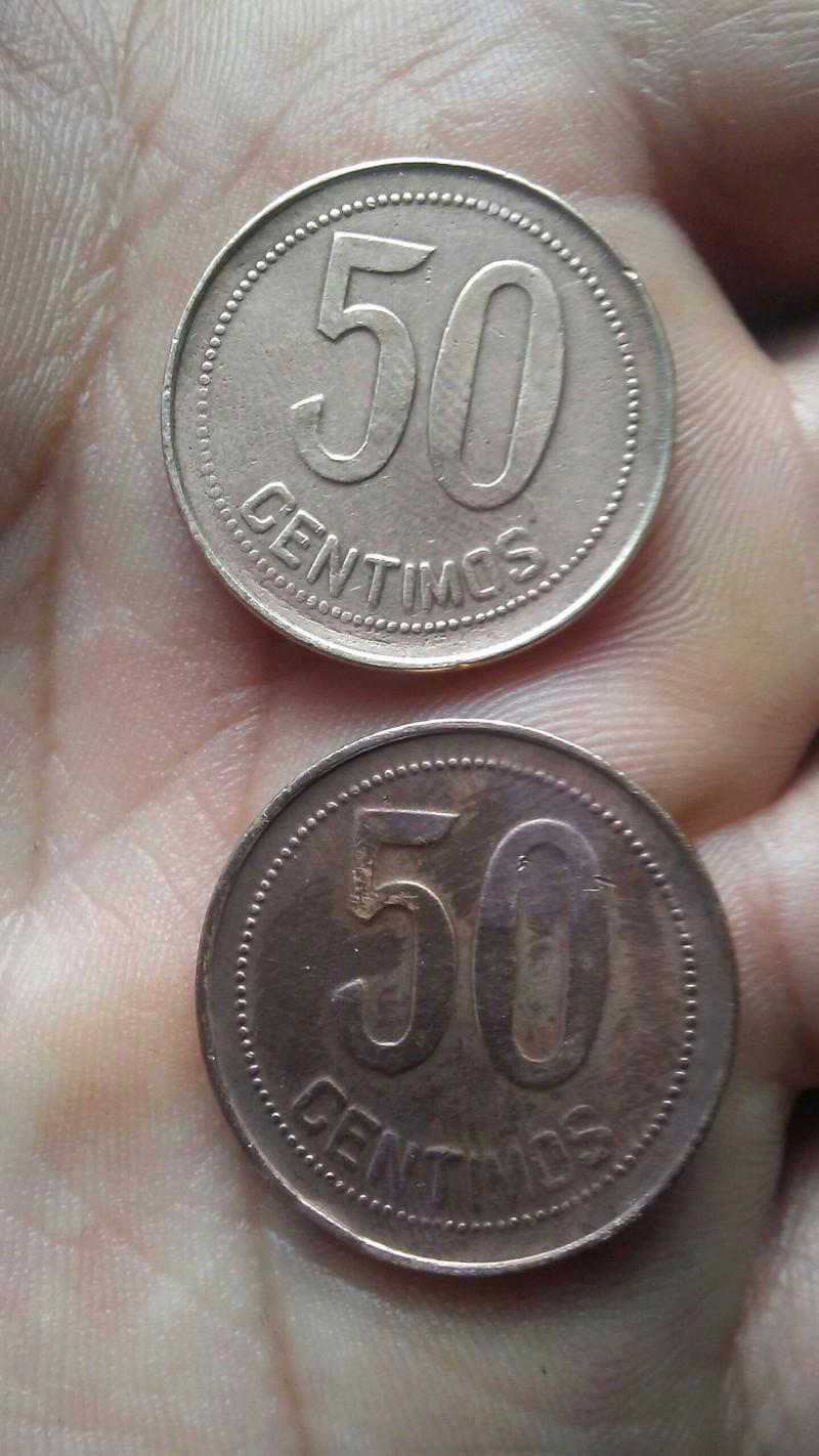 50 céntimos 1937 (*3-4) ¿acuñada en latón? 20170810
