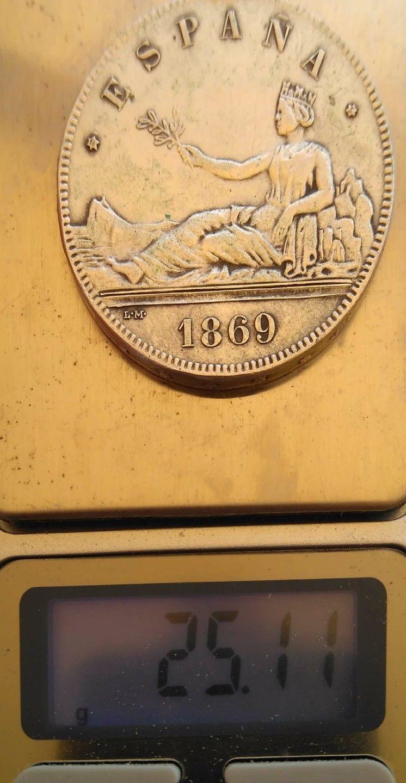 5 pesetas 1869 _5712