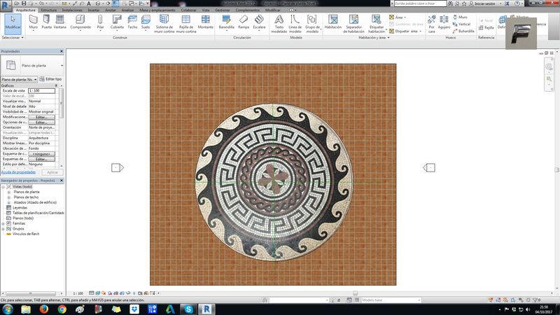 Insertar un material a suelo circular 10101011
