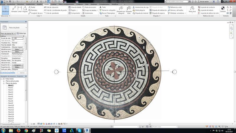 Insertar un material a suelo circular 11111111