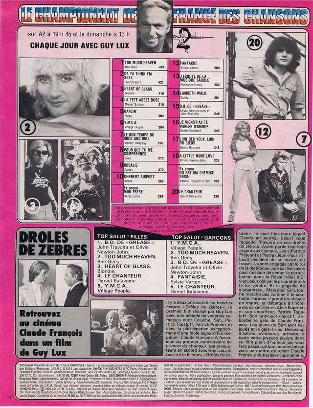 RETROSPECTIVE DE LA DISCOGRAPHIE - Page 10 19790311