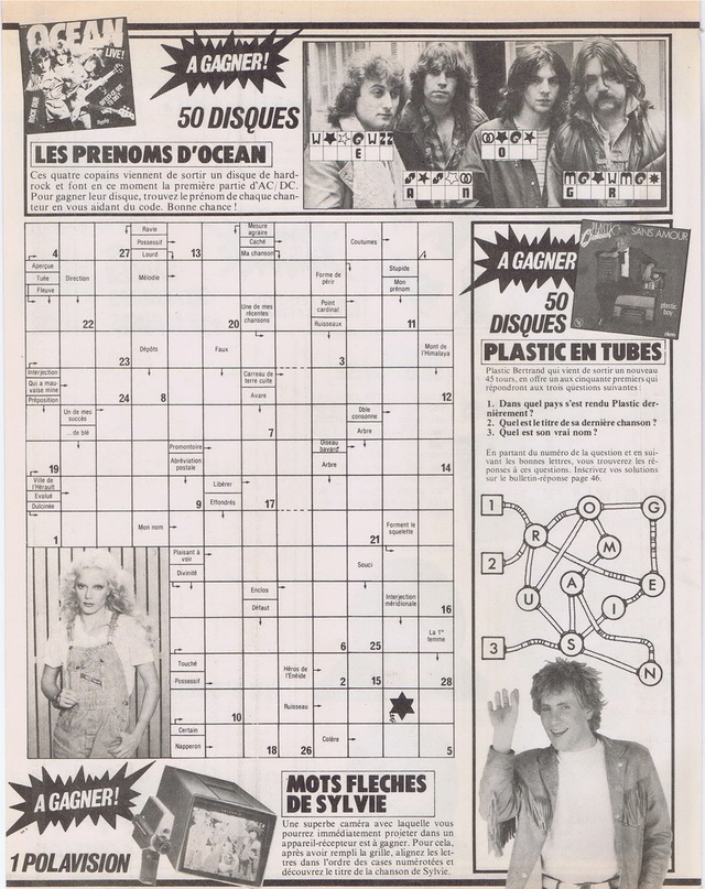 """Discographie N° 77 """"LA CHANSON AU BROUILLON"""" - Page 3 19810118"""