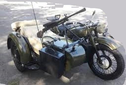 VEHICULO PARA EL JUEGO T. HUNTER CLASICO: MOTO SIDECAR 02_con11