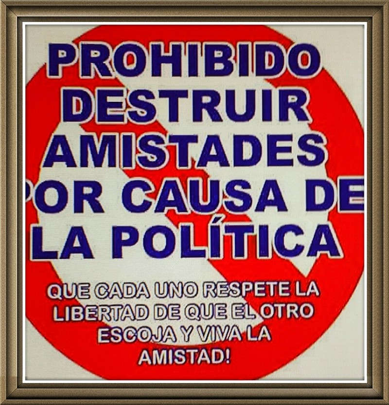 No politicemos el foro, por favor. 20151210