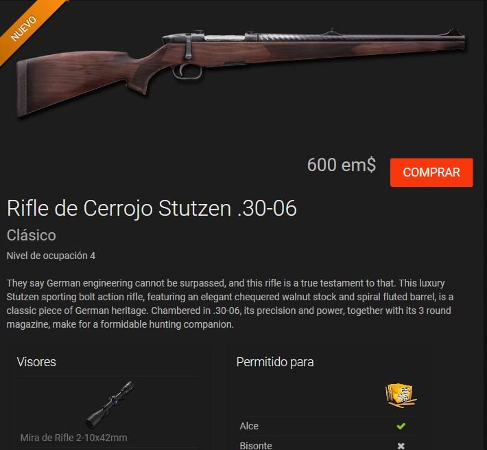 """COMENTARIOS Arma nueva RIFLE DE CERROJO STUTZEN """"CLASICO"""" R.30-06 Rifle_15"""