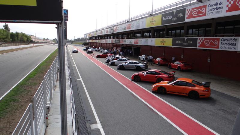 Sortie roulage circuit de Barcelonne Dsc03912