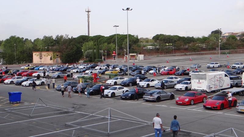 Sortie roulage circuit de Barcelonne Dsc03915