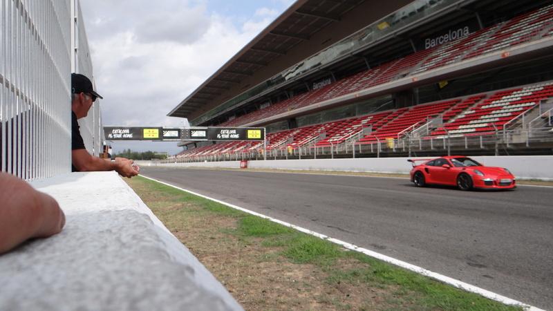 Sortie roulage circuit de Barcelonne Dsc03919