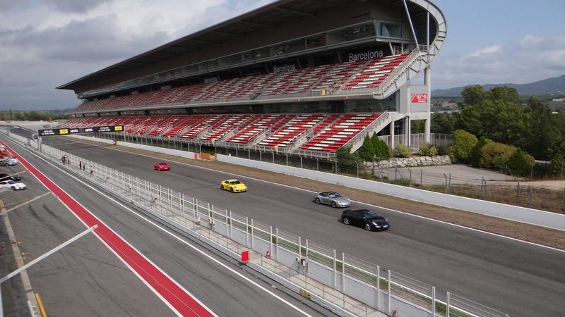 Sortie roulage circuit de Barcelonne Dsc03920