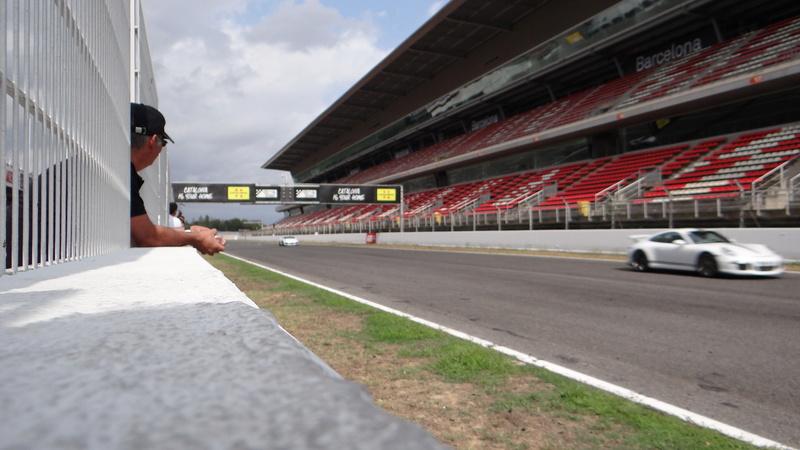 Sortie roulage circuit de Barcelonne Dsc03921