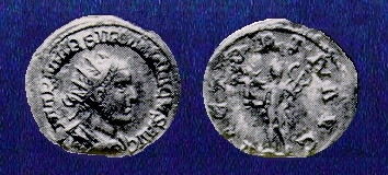 Monnaie barbare de l'empereur Silbanacvs Silban10