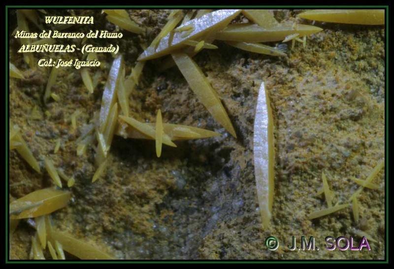 MINA EL CENTENILLO Y MINA DEL BCO. DEL HUMO (Albuñuelas - Granada) Wu_al010