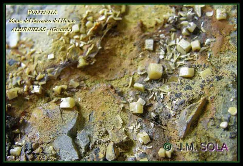 MINA EL CENTENILLO Y MINA DEL BCO. DEL HUMO (Albuñuelas - Granada) Wu_al011