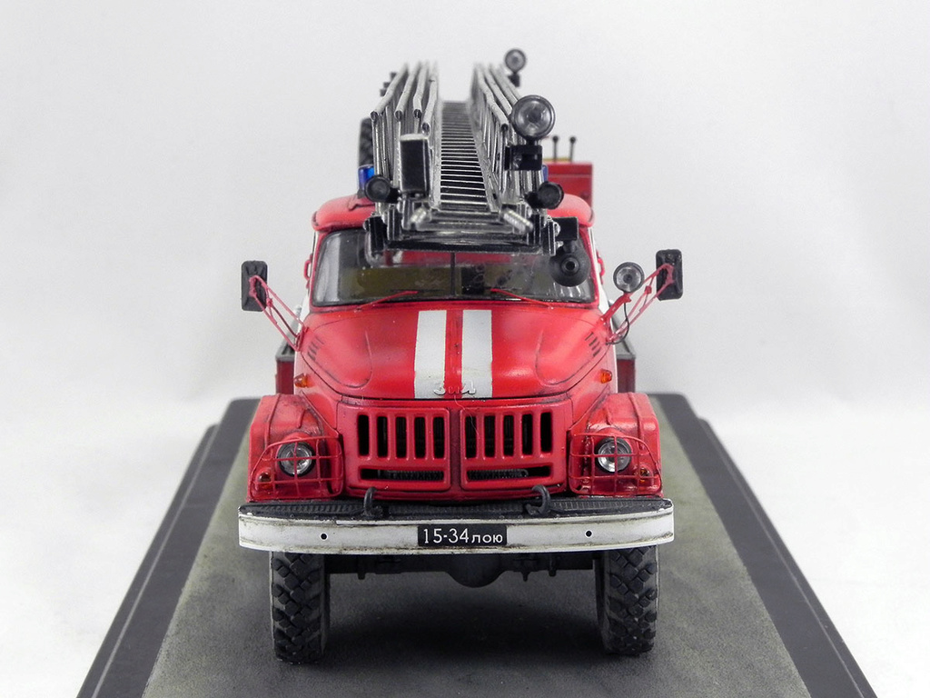 Пожарная автолестница АЛ-30 (131) 1:43 AVD 10410